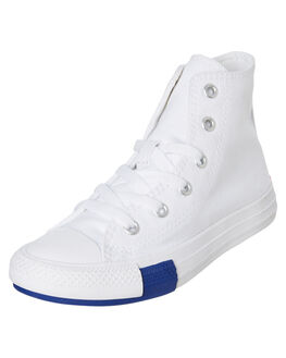 WHITE MENS FOOTWEAR CONVERSE SNEAKERS - SS166735CWHTM