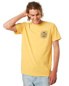 AMBER MENS CLOTHING THE CRITICAL SLIDE SOCIETY TEES - TE1844AMBER