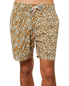 SAFARI MENS CLOTHING BARNEY COOLS BOARDSHORTS - 804-PEC1SAF