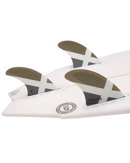 GREY BOARDSPORTS SURF FUTURE FINS FINS - 1177-129-00GRY