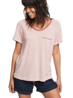 5421de46d18 WHITERED ROSE THIN WOMENS CLOTHING ROXY TEES - ERJZT04335MMG5