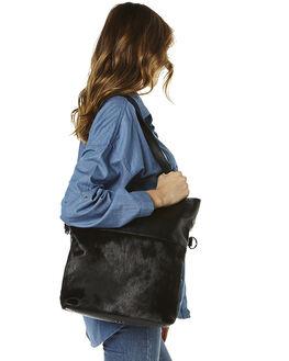 BLACK BLACK FUR WOMENS ACCESSORIES STATUS ANXIETY BAGS + BACKPACKS - SA7143BBFUR
