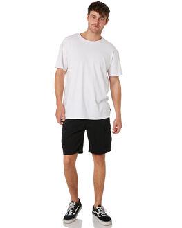 BLACK MENS CLOTHING RUSTY SHORTS - WKM0918BLK