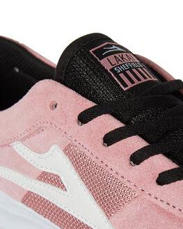 PINK SUEDE MENS FOOTWEAR LAKAI SKATE SHOES - MS3170101APINKS