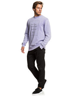 PURPLE ASH MENS CLOTHING QUIKSILVER JUMPERS - EQYFT03916-SKW0