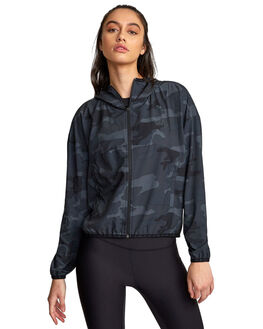 CAMO WOMENS CLOTHING RVCA ACTIVEWEAR - RV-R407891-CMO