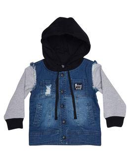ROCKER BLUE KIDS TODDLER BOYS RADICOOL DUDE JACKETS - RD0924RCKBL