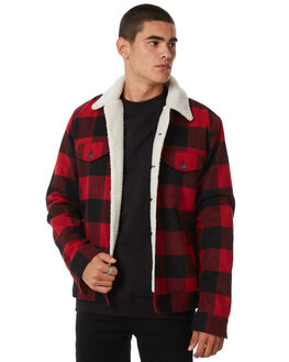 RED MENS CLOTHING INSIGHT JACKETS - 5000002635RED