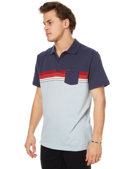 NAVY MENS CLOTHING RIP CURL SHIRTS - CPLBZ10049