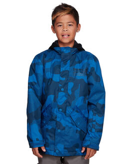 MONACO BLUE CAMO BOARDSPORTS SNOW DC SHOES KIDS - EDBTJ03030-BYC6