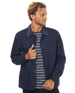 NAVY MENS CLOTHING SWELL JACKETS - S5171382NAVY