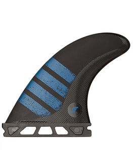 BLACK BLUE BOARDSPORTS SURF FUTURE FINS FINS - F06-011503BLKBL