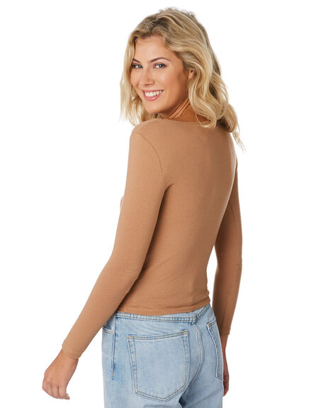 FAWN OUTLET WOMENS SWELL TEES - S8194100FAWN