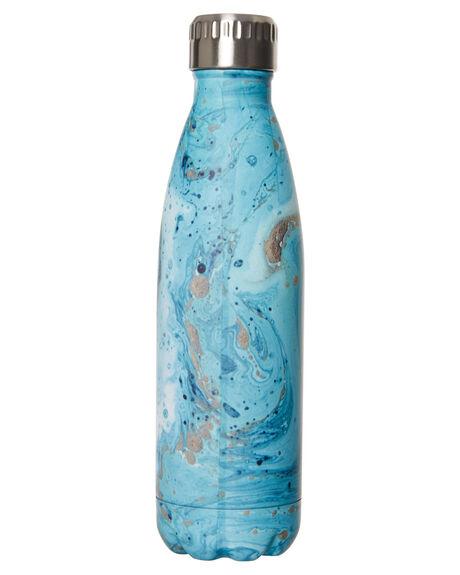 MARBLE BLUE MENS ACCESSORIES EARTH BOTTLES DRINKWARE - EBMB500MABLU