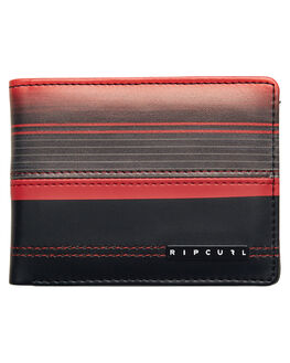 RED MENS ACCESSORIES RIP CURL WALLETS - BWUJF2RED