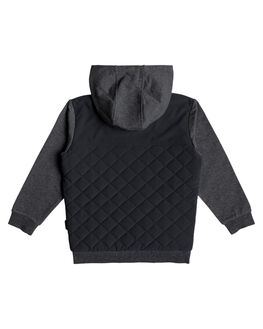 BLACK KIDS BOYS QUIKSILVER JUMPERS + JACKETS - EQKFT03273-KVJ0