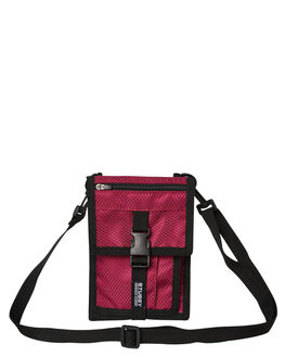 PLUM MENS ACCESSORIES STUSSY BAGS + BACKPACKS - ST793012PLUM