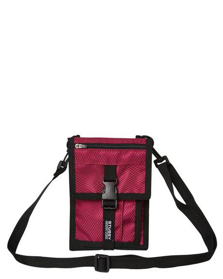 PLUM MENS ACCESSORIES STUSSY BAGS + BACKPACKS - ST793012PLUM