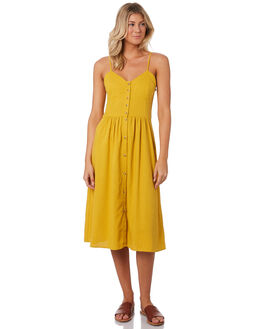 GOLD WOMENS CLOTHING ROLLAS DRESSES - 13074511