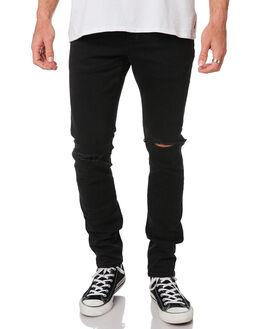 ZERO TORN BLACK MENS CLOTHING NEUW JEANS - 333484732