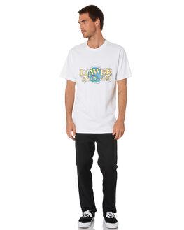 WHITE MENS CLOTHING LOWER TEES - LO20Q1MTS10WHT