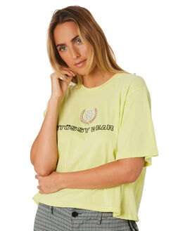 CITRUS WOMENS CLOTHING STUSSY TEES - ST196002CIT