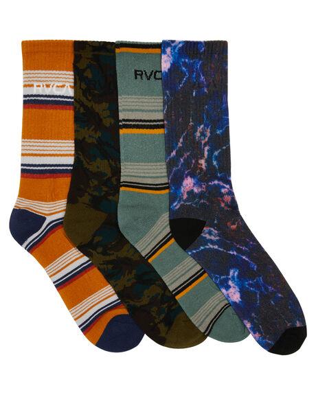 MULTI MENS CLOTHING RVCA SOCKS + UNDERWEAR - R105601AMLT