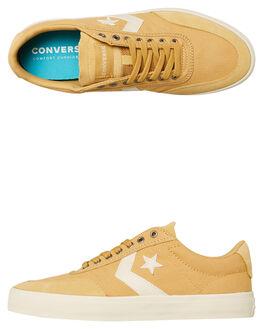 CLUB GOLD MENS FOOTWEAR CONVERSE SNEAKERS - 163201CGOLD