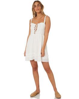 WHITE WOMENS CLOTHING SOMEDAYS LOVIN DRESSES - IL18F2479WHT