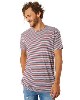 STRIPE TWO MENS CLOTHING SILENT THEORY TEES - 40X0017STR2