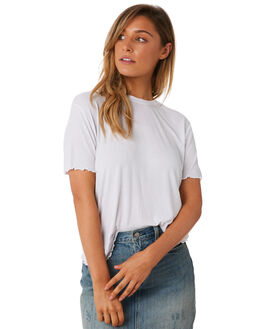 BLANC WOMENS CLOTHING THE BARE ROAD TEES - 991241-01BLN