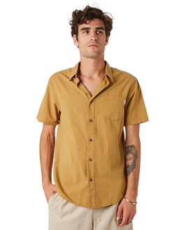 DUST MENS CLOTHING RHYTHM SHIRTS - JAN20M-WT02-DUS