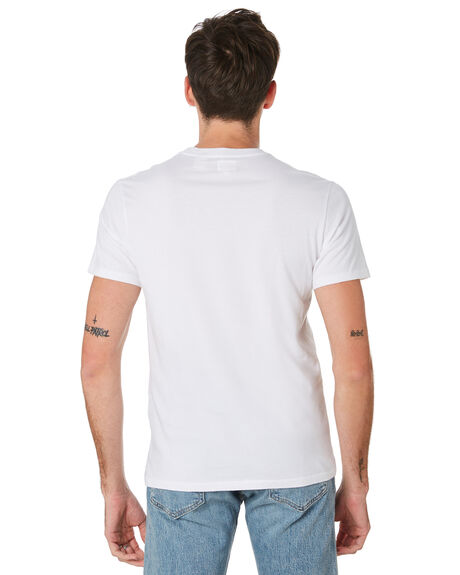 WHITE MENS CLOTHING LEVI'S TEES - 56605-0000