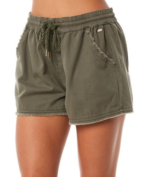 OLIVE WOMENS CLOTHING O'NEILL SHORTS - 40221016890