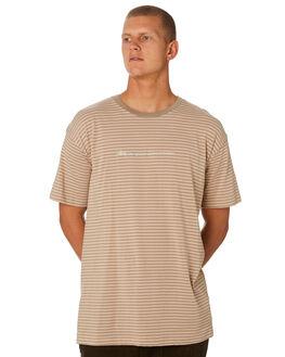 MUSHROOM MENS CLOTHING STUSSY TEES - ST096104MUSH