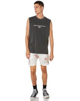 MERCH BLACK MENS CLOTHING THRILLS SINGLETS - TH9-109MBMCBLK