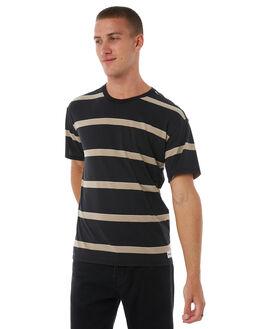 BLACK MENS CLOTHING HURLEY TEES - AJ1804010