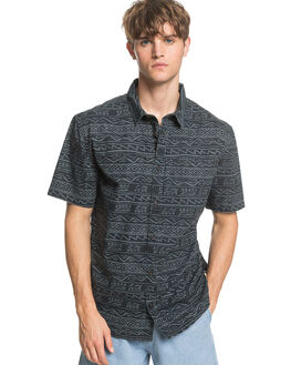 BLACK TONAL MENS CLOTHING QUIKSILVER SHIRTS - EQYWT03962-KVJ6