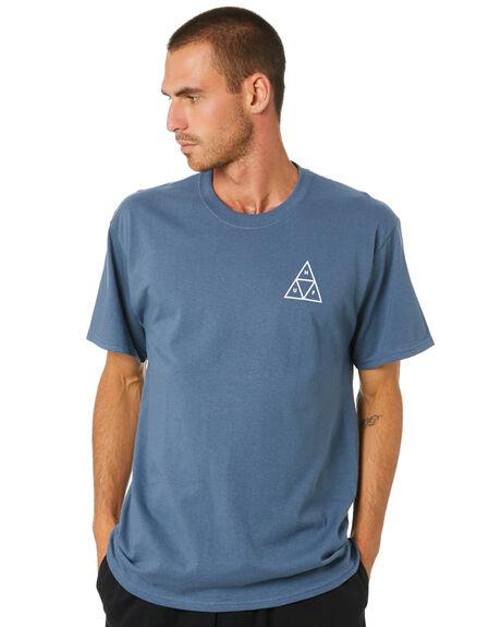 SLATE MENS CLOTHING HUF TEES - TS01259-SLATE