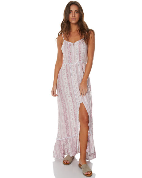 ORCHID WOMENS CLOTHING RHYTHM DRESSES - JUL17G-DRS07ORCH