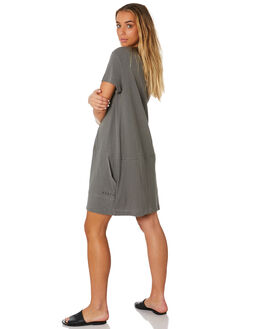 NAVAL GREY WOMENS CLOTHING RUSTY DRESSES - DRL0952NVG
