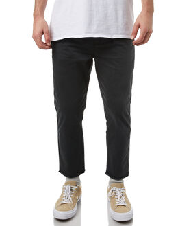 ROOTS BLACK MENS CLOTHING STUSSY PANTS - ST071613ROBLK