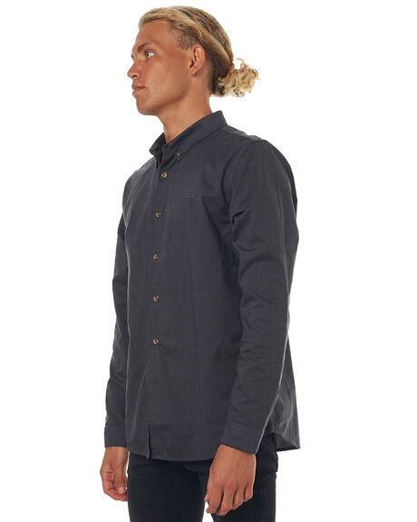 BLACK MENS CLOTHING BILLABONG SHIRTS - 9571210BLK