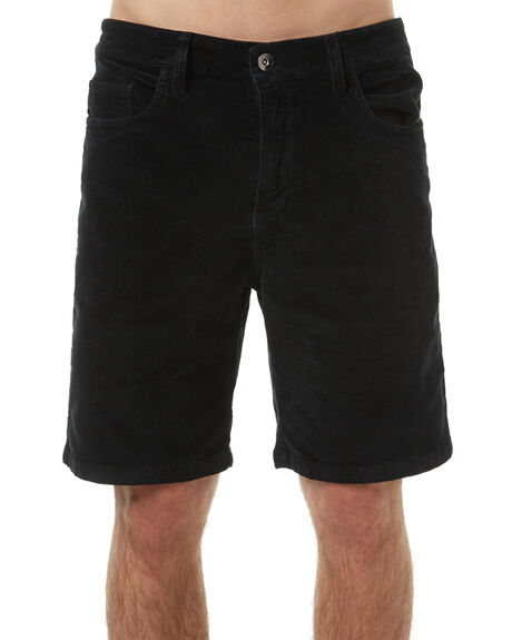 BLACK MENS CLOTHING SWELL SHORTS - S5161249BLK