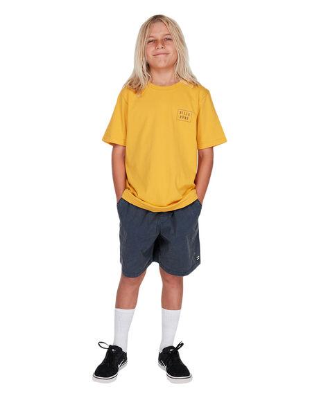 NAVY KIDS BOYS BILLABONG SHORTS - 8572716NVY