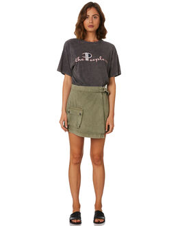 SURPLUS GREEN WOMENS CLOTHING THE PEOPLE VS SKIRTS - AW19W048SGRN