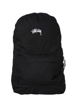 BLACK MENS ACCESSORIES STUSSY BAGS + BACKPACKS - ST705024BLK