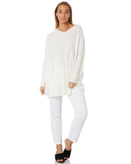 OFF WHITE WOMENS CLOTHING BETTY BASICS KNITS + CARDIGANS - BB426W19OWHT