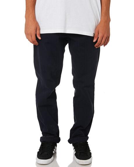 DARK NAVY MENS CLOTHING CARHARTT PANTS - I026021-1CDNVY