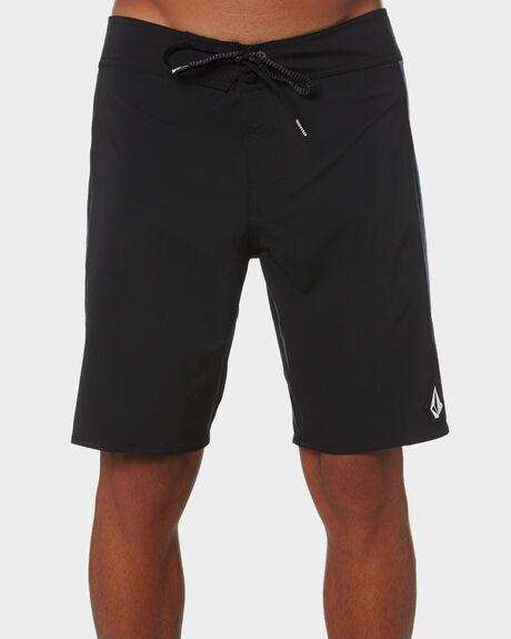 BLACK MENS CLOTHING VOLCOM BOARDSHORTS - A0812102BLK